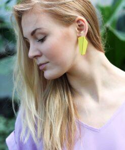 EARRINGS FOLDED VERTICAL