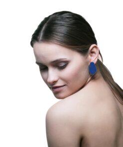 EARRINGS LEAVES BIG